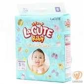 Подгузники LaCUTE Baby Premium Air Soft S (4-8 кг) 82 шт.