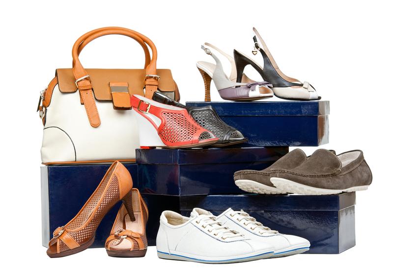 Картинка с обувью женской и мужской