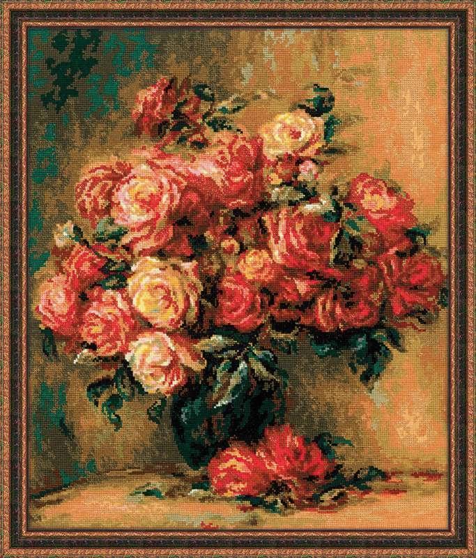 Ренуар - букет роз