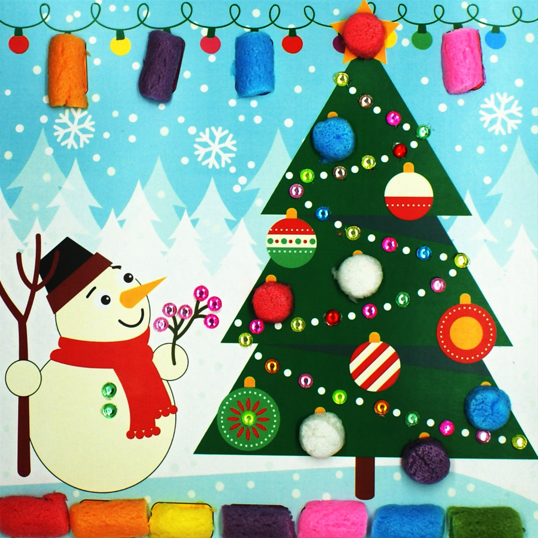 нашем картинка аппликация елка новогодняя тогда ответьте