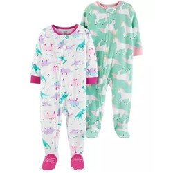 2-Pack Fleece PJs