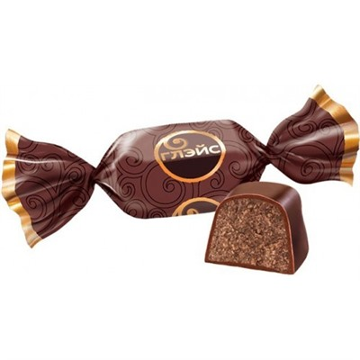 """Конфеты """"Глэйс"""" с шоколадным вкусом (KDV)"""