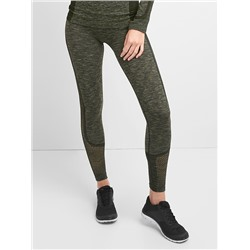GFast Mesh Panel Seamless Leggings