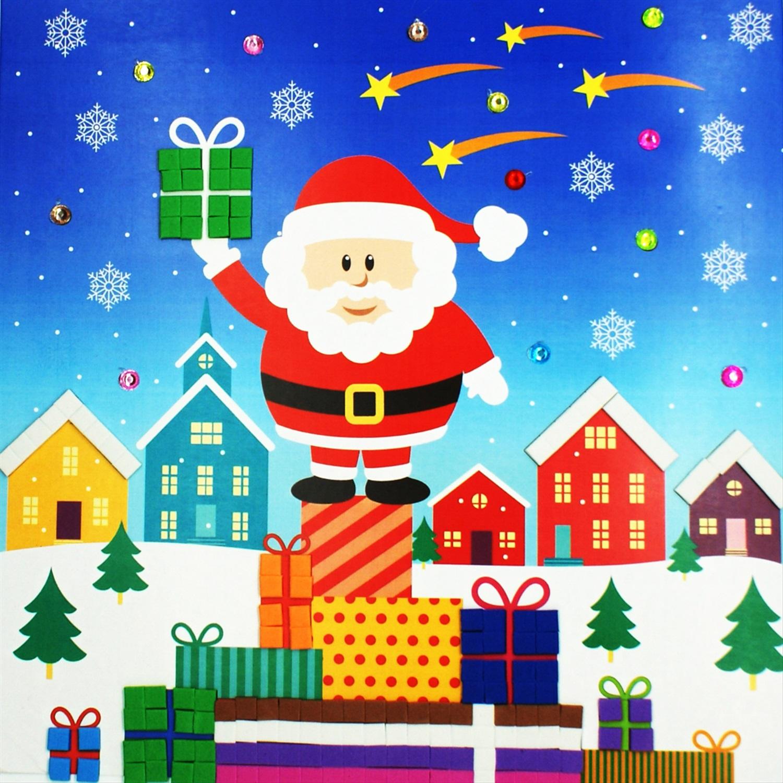 борт картинки рождественские аппликации пустом пьедестале