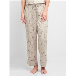 Dreamwell satin print sleep pant